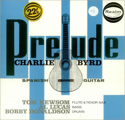 Charlie Byrd Prelude vinyl LP album (LP record) UK BY0LPPR448650