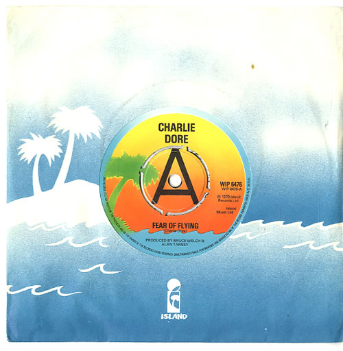 """Charlie Dore Fear Of Flying 7"""" vinyl single (7 inch record) UK HDR07FE624287"""