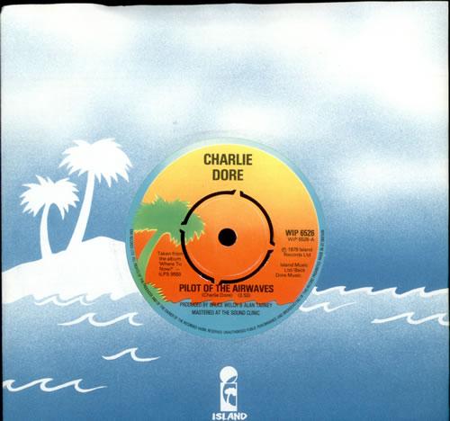 "Charlie Dore Pilot Of The Airwaves 7"" vinyl single (7 inch record) UK HDR07PI493848"
