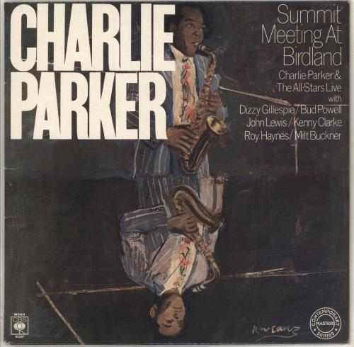 Charlie Parker Summit Meeting At Birdland Dutch Vinyl Lp