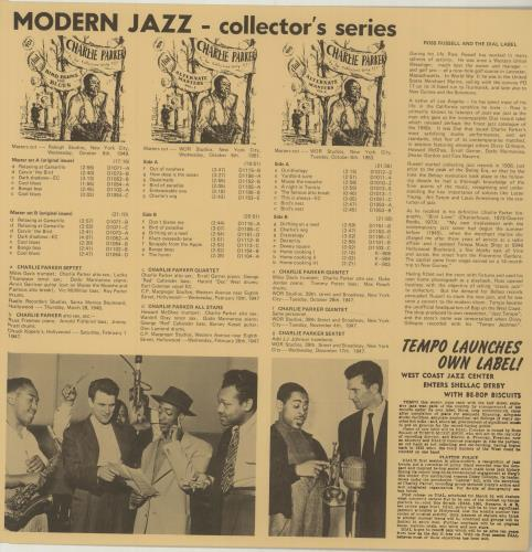 Charlie Parker The Fabulous Bird Blows - Collectors' Jazz Vinyl Box Set UK CIKVXTH616517