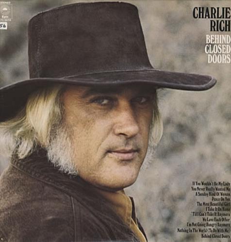 Charlie Rich Behind Closed Doors vinyl LP album (LP record) UK CB3LPBE303302