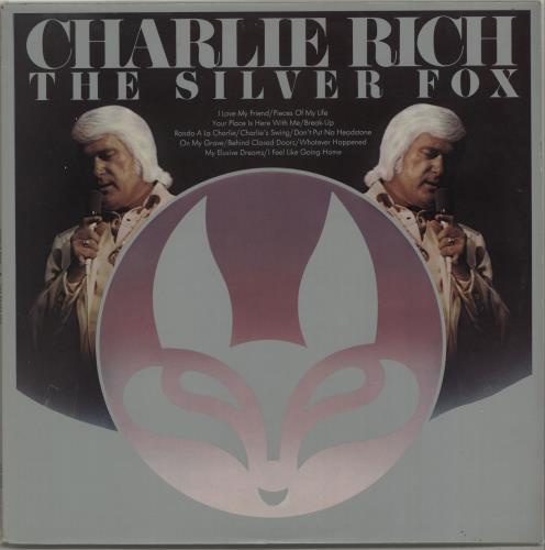 Charlie Rich The Silver Fox vinyl LP album (LP record) UK CB3LPTH667062