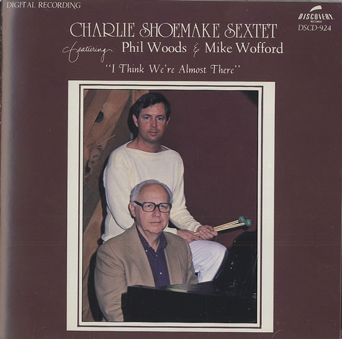 Charlie Shoemake I Think We're Almost There CD album (CDLP) US CW4CDIT490673