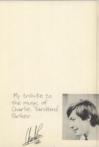 Charlie Watts Ode To A Highflying Bird book UK CHWBKOD749123