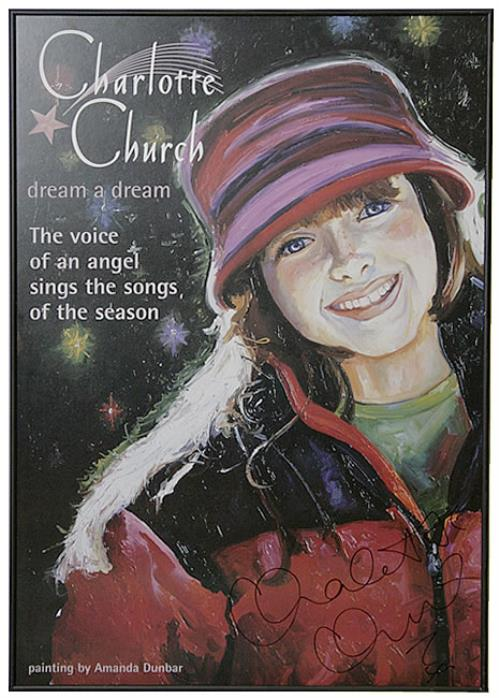 Charlotte Church Dream A Dream memorabilia US URHMMDR489084