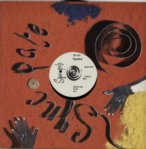 "CharVoni Always There 12"" vinyl single (12 inch record / Maxi-single) UK FKB12AL605416"