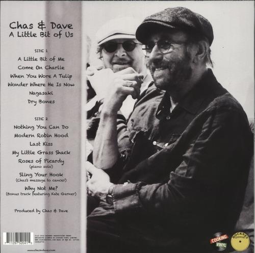 Chas & Dave A Little Bit Of Us vinyl LP album (LP record) UK C+DLPAL727983