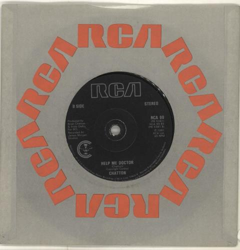 "Chatton I'll Give You What You Want 7"" vinyl single (7 inch record) UK CQN07IL703756"