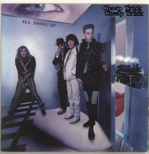 Cheap Trick All Shook Up vinyl LP album (LP record) Japanese CHPLPAL713873