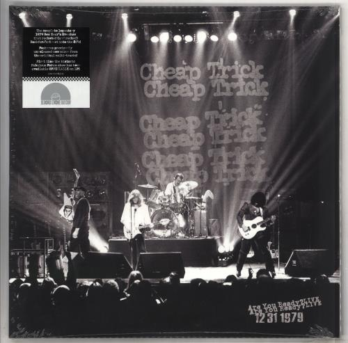 Cheap Trick Are You Ready? LIVE 12/31/1979 - RSD BF19 - Sealed 2-LP vinyl record set (Double Album) UK CHP2LAR734519