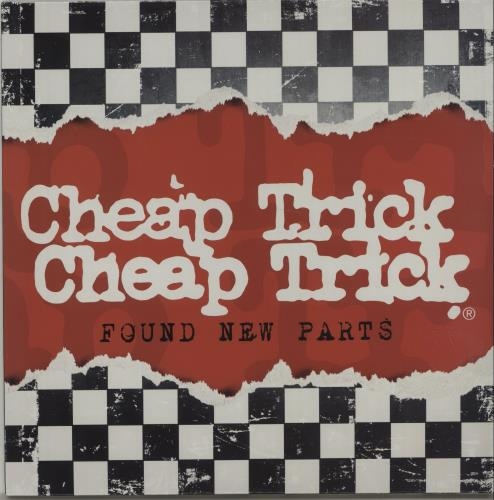 "Cheap Trick Found New Parts - RSD 10"" vinyl single (10"" record) US CHP10FO675635"