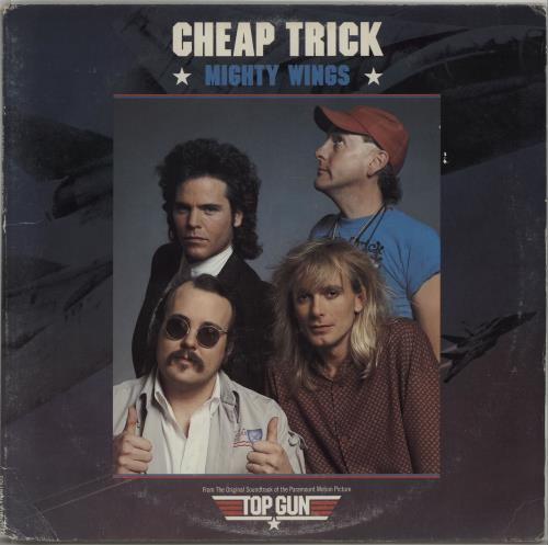 "Cheap Trick Mighty Wings 12"" vinyl single (12 inch record / Maxi-single) US CHP12MI157136"