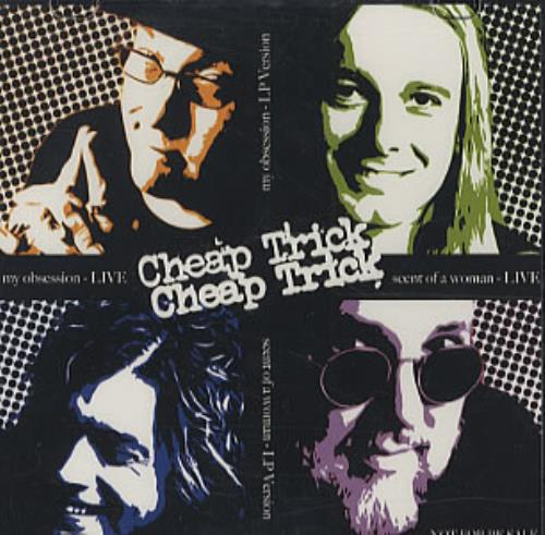 Cheap Trick Scent Of A Woman CD-R acetate US CHPCRSC338305