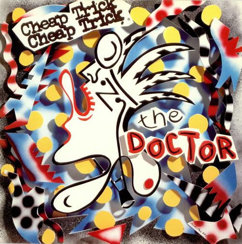Cheap Trick The Doctor vinyl LP album (LP record) UK CHPLPTH465681