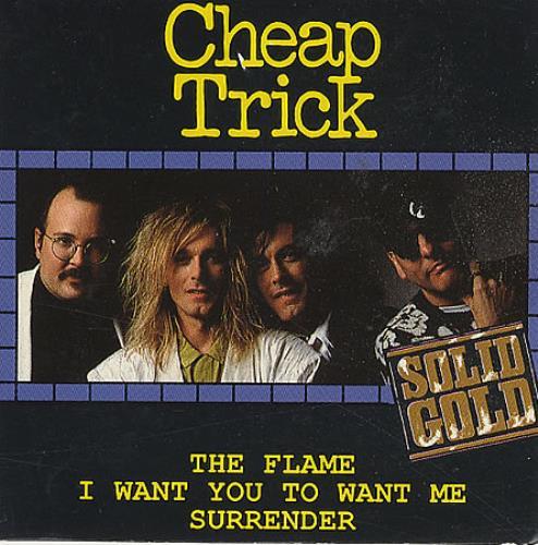 "Cheap Trick The Flame 3"" CD single (CD3) UK CHPC3TH20964"