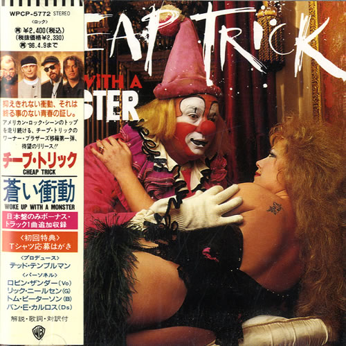 Cheap Trick Woke Up With A Monster CD album (CDLP) Japanese CHPCDWO554639