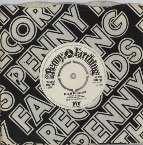 "Chelsea FC Blue Is The Colour - 4-pr 7"" vinyl single (7 inch record) UK CFC07BL750731"