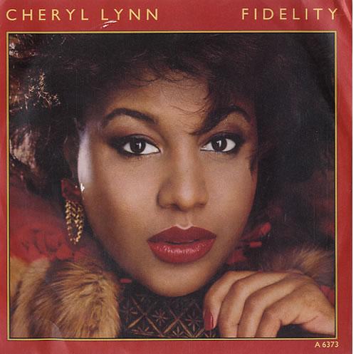"Cheryl Lynn Fidelity 7"" vinyl single (7 inch record) UK LN207FI624071"