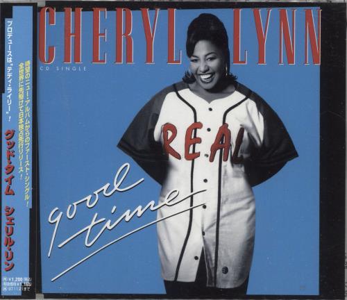 "Cheryl Lynn Good Time CD single (CD5 / 5"") Japanese LN2C5GO730022"