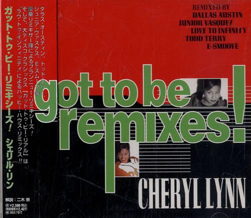 """Cheryl Lynn Got To Be Remixes CD single (CD5 / 5"""") Japanese LN2C5GO477609"""