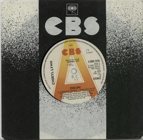 "Cheryl Lynn Star Love - A Label 7"" vinyl single (7 inch record) UK LN207ST636025"
