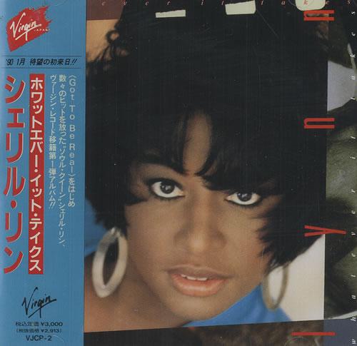 Cheryl Lynn Whatever It Takes CD album (CDLP) Japanese LN2CDWH467546