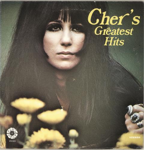 Cher Cher's Greatest Hits vinyl LP album (LP record) US CHELPCH692056