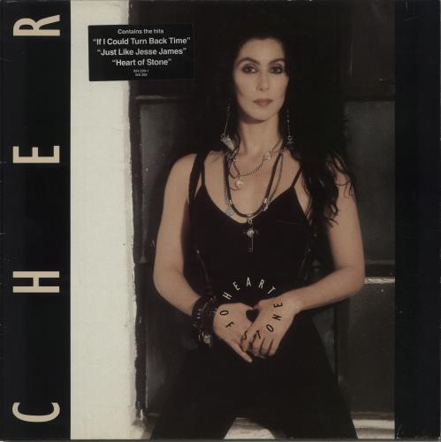 Cher Heart Of Stone - Hype stickered - EX vinyl LP album (LP record) UK CHELPHE642374