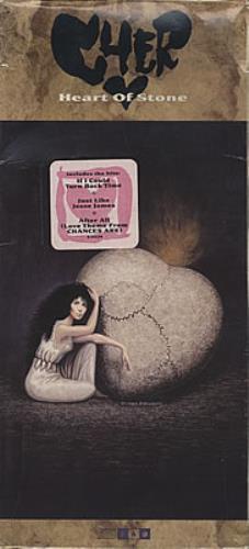 Cher Heart Of Stone - Long Box CD album (CDLP) US CHECDHE371319