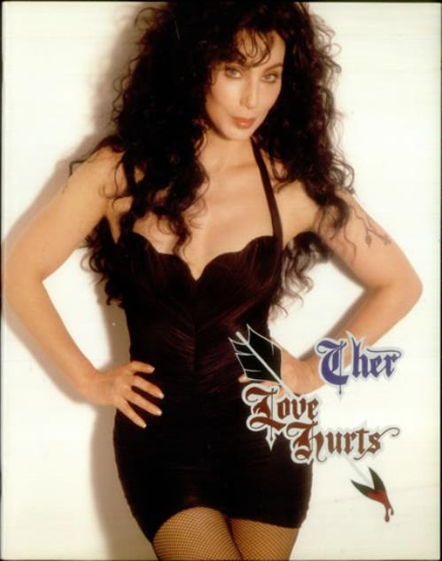 Cher Love Hurts tour programme UK CHETRLO11464