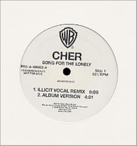 "Cher Song For The Lonely 12"" vinyl single (12 inch record / Maxi-single) US CHE12SO208553"