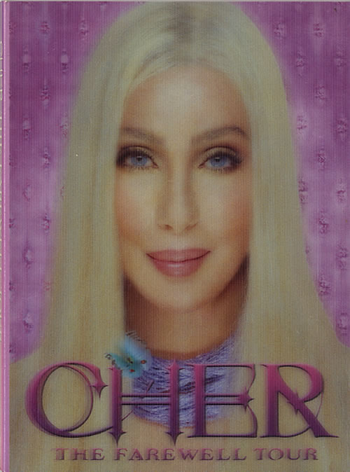 Cher The Farewell Tour DVD UK CHEDDTH254977
