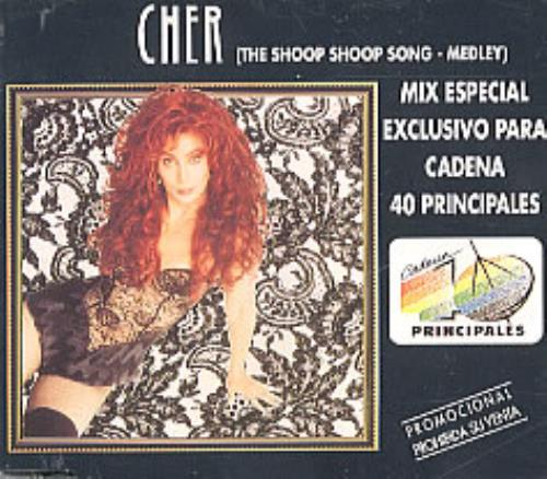 "Cher The Shoop Shoop Song - Medley CD single (CD5 / 5"") Spanish CHEC5TH209929"