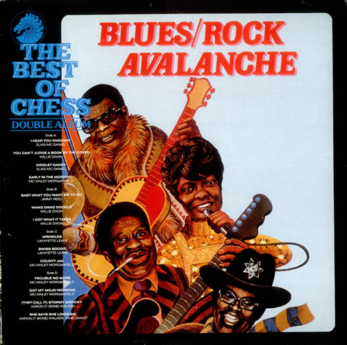 Chess Records Blues Rock Avalanche The Best Of Chess Uk