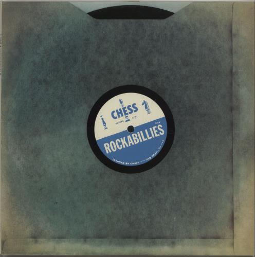 Chess Records Chess Rockabillies vinyl LP album (LP record) UK EKGLPCH674405