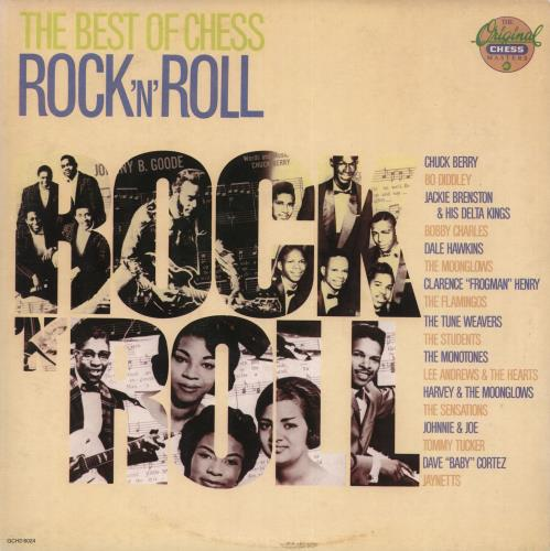 Chess Records The Best Of Chess: Rock 'n' Roll 2-LP vinyl record set (Double Album) Italian EKG2LTH729593