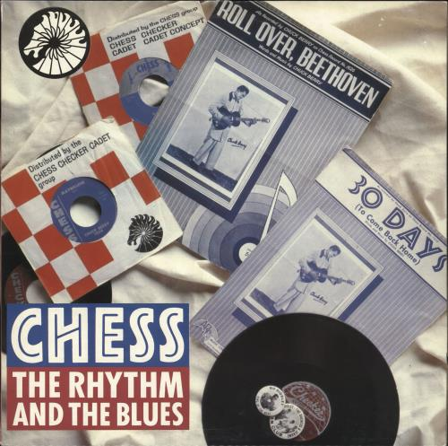 Chess Records The Rhythm And The Blues vinyl LP album (LP record) Italian EKGLPTH696364