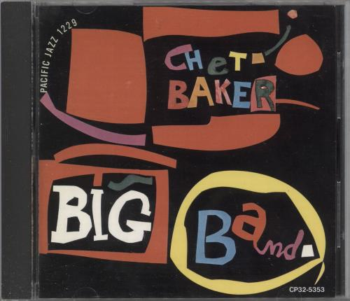Chet Baker Big Band CD album (CDLP) Japanese 6CBCDBI737359