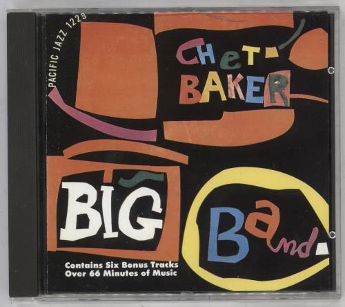 Chet Baker Big Band CD album (CDLP) Dutch 6CBCDBI738463