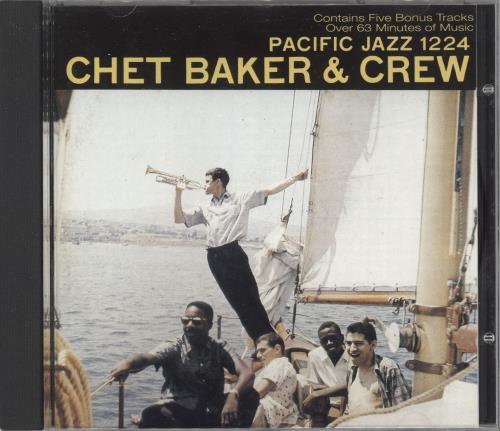 Chet Baker Chet Baker & Crew CD album (CDLP) UK 6CBCDCH737334