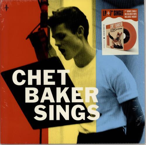 """Chet Baker Chet Baker Sings + 7"""" Red vinyl single vinyl LP album (LP record) UK 6CBLPCH765952"""