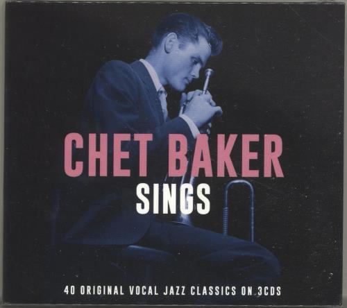 Chet Baker Sings 3-CD album set (Triple CD) UK 6CB3CSI697989