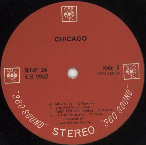 Chicago Chicago - Export Issue 2-LP vinyl record set (Double Album) US CCG2LCH730847