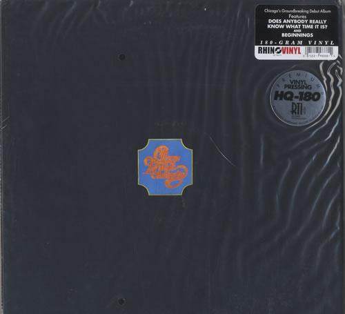 Chicago Chicago Transit Authority - 180gm - Sealed 2-LP vinyl record set (Double Album) US CCG2LCH471731