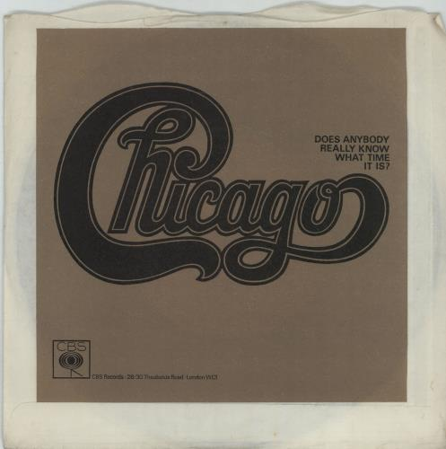 Chicago I M A Man Single Version