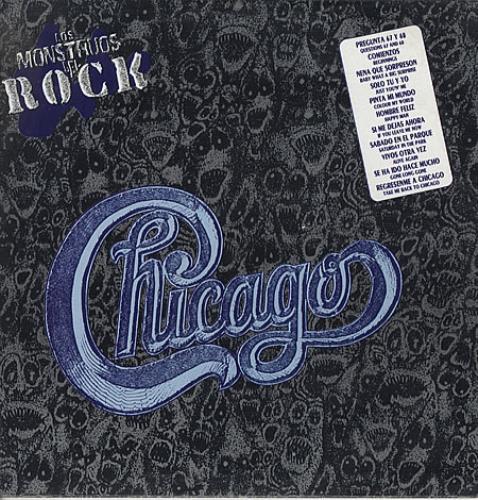 Chicago Los Monstruos De Rock vinyl LP album (LP record) Mexican CCGLPLO337734
