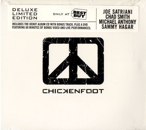 Chickenfoot iii 2011 usa cd+dvd deluxe edition new sealed van.