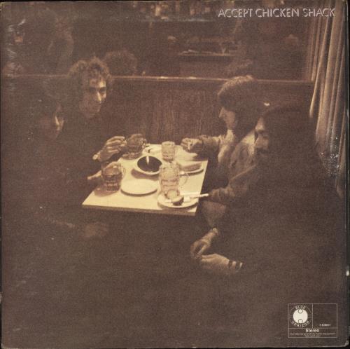 Chicken Shack Accept - EX vinyl LP album (LP record) UK CHSLPAC664954
