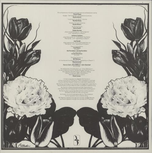 Chick Corea The Leprechaun + insert - shrink vinyl LP album (LP record) UK CKCLPTH313944